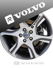 8x VOLVO R DESIGN WHEEL DECAL,STICKERS,GRAPHIC,CUSTOM,V40,V60,C30,XC60,S60,S40