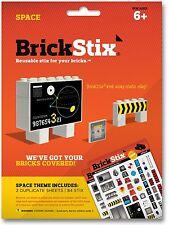 Brick Stix Reusable LEGO Stickers - Space Theme