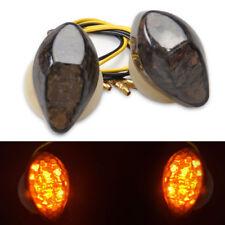 Custom Smoke LED Flush Mount Turn Signals Light Blinker Marker  For Honda CBR CB
