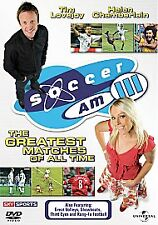 Soccer AM 3 (DVD, 2006) new and sealed freepost