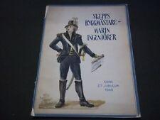 1948 SKEPPSBYGGMASTARE MARININGENJORER - KRING ETT JUBILEUM BOOKLET - II 8035