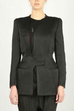 Haider Ackermann  Kuiper asymmetric jacket medium  UK 12
