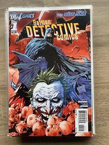 BATMAN DETECTIVE COMICS #1 'THE NEW 52!' DC COMIC BOOK MINT CONDITION