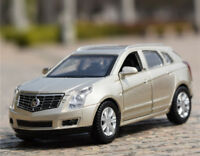 1:43 Cadillac SRX SUV Alloy Car Model Pull Back Vehicles Kids Toy --Gold