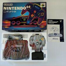 Nintendo 64 Console Boxed & Complete NTSC-J N64 Japan AU Seller + Combine Ship!