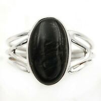 Natural Pietersite 925 Solid Sterling Silver Ring Jewelry Sz 8.5, EA32-3