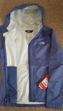North Face Venture Jacket Womans Extra Small XS Lilac Purple Fjord Blue