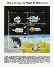APOLLO XI Moon Landing Spacecraft Modules Space Stamp Sheet (1999 Dominica)