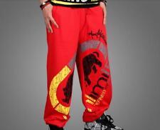 HIP HOP B-BOY Ecko Mens SkateBoarding SweatPants Pure cotton Pants trousers