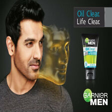 Garnier Men Oil Clear Deep cleansing ICY Face wash, 100 gm