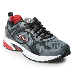 New! Mens Fila  Windshift 15 Running Sneakers Shoes - Wide - limited sizes