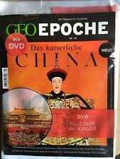 Geo Epoche 93 das kaiserliche China mit DVD
