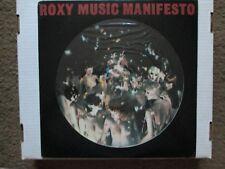 """Roxy Music """"Manifesto"""" import picture disc album"""