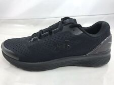 Under Armour UA Charged Bandit 4 Mens Running Shoes Size 11 Triple Black Mesh