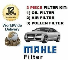 FOR AUDI A5 3.2 FSI QUATTRO 6/2007--> NEW SERVICE KIT OIL AIR POLLEN FILTER SET