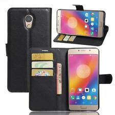 Lenovo P2 Cartera Funda Cover Flip Wallet Case bolsa Carcasa Negro