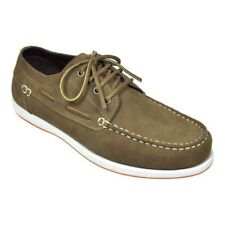 New Rugged Shark Whaler Shoes Color Brown Suede