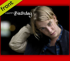 JUSTIN TIMBMERLAKE Autograph Repro BIRTHDAY Card Including Envelope A5 210x148mm