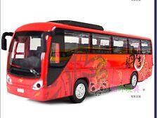 Cute travel coach bus