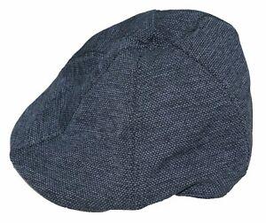 Sean John Wool Blend Textured Knit 6-Panel Newsboy Cap Grey NWT One Size