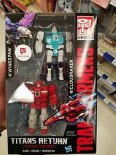 Transformers Titans Return Wingspan And Cloudraker 2 Pack Walgreens Exclusive