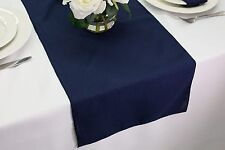 14 X 60 Inch Polyester Table Runners, Multiple Colors U0026 Multiple Sizes