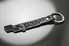 Renault SPORT Leather Keyring, Keychain Schlüsselring Porte-clés Clio Megane 182