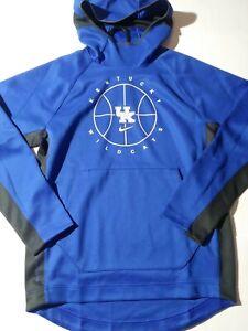 Size Medium Nike NCAA Kentucky Wildcats Hooded Sweatshirt Blue Style CN0465 480