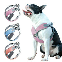 Escape Proof Dog Harness Reflective Step-in No Pull Harness Vest for Pitbull