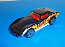 Matchbox Superfast Mid '80s Chevrolet Corvette Stingray Black w/ Gray Macau Base