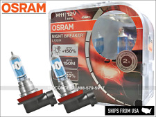 New Gen! H11 OSRAM Night Breaker Laser +150% Bulbs 64211NL 12V 55W GERMANY DOT