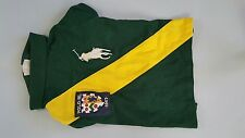 POLO RALPH LAUREN NOVELTY RUGBY DOG POLO SHIRT(LARGE) 16-24LBS -WELSH GREEN