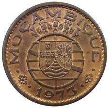 (M8) - Mosambik Mozambique - 1 Escudo - 1973 - Wappen - Bro - UNC - KM# 82