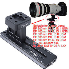 Tripod Mount Ring Foot + Camera Quick Release Plate for Canon Long Lens Collar