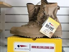 Belleville 790 V Size 12.5 W Combat Boots Desert Tan Military Gore Tex New