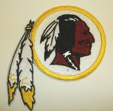 """Washington Redskins Embroidered PATCH~4 1/8 """" x 3 5/8""""~Iron Sew~NFL~Ships FREE"""