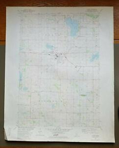 "Cokato, Minnesota Original Vintage 1982 USGS Topo Map 27"" x 22"""