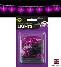 BAT LED Halloween Fairy Lights String Light Outdoor Party Decor Hanging Prop UK
