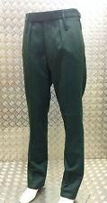Markenlose Bundfaltenhosen mit geradem Bein
