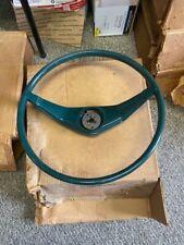 Studebaker Lark 1959 - 1960, NOS Steering Wheel , Green, In Excellent Shape !