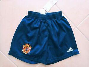 """MINT"" Spain Football Away Shorts 1999-2000 (8 Years Old) Adidas Camiseta Shirt"