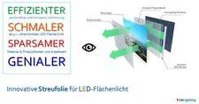 DIN A1(85x60cm) sparsame P-Streufolie für LED-Flächenleuchte und Lichtwerbung