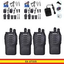 4x Baofeng BF-888S Walkie Talkie UHF 400-470MHZ 16CH 5W CTCSS DCS 2-Way Radio