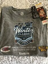 2016 Winter Classic Boston Bruins/Montreal Canadiens T-Shirt Men's Large (New)