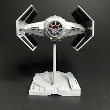 PRO BUILT Vader's Imperial Tie Advanced w/FULL LIGHTING Prop Replica Star Wars