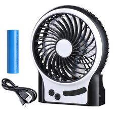 Mini USB Rechargeable Fan with Light