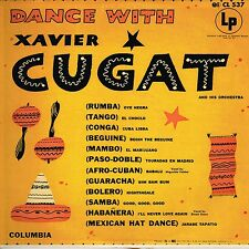 dance with XAVIER CUGAT u.s. COLUMBIA LP CL-537_original 1953 pre 6 eye label !