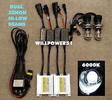 6000K H4 9003 BI-XENON CANBUS NO ERROR SLIM HID 92-03 FOR HONDA CIVIC EK EG EP