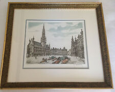 Roger Hebbelinck Limited Edition. Signed and Numbered 160/350 Beautifully Framed
