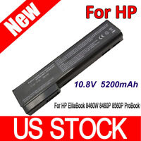 5200mAh Battery for HP EliteBook 8460W 8460P 8560P ProBook 6560b 6460b 6360b